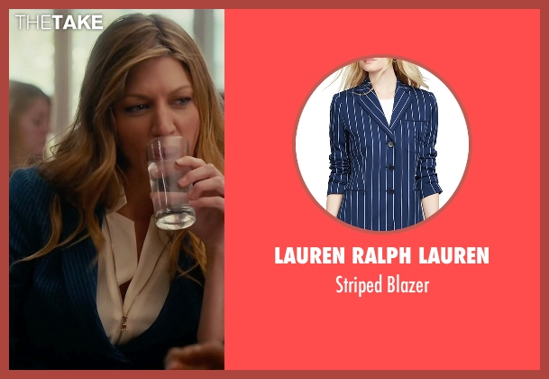 Lauren Ralph Lauren blue blazer from Mistresses seen with Josslyn Carver (Jes Macallan)