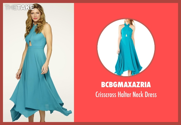 BCBGMAXAZRIA blue dress from Mistresses seen with Josslyn Carver (Jes Macallan)
