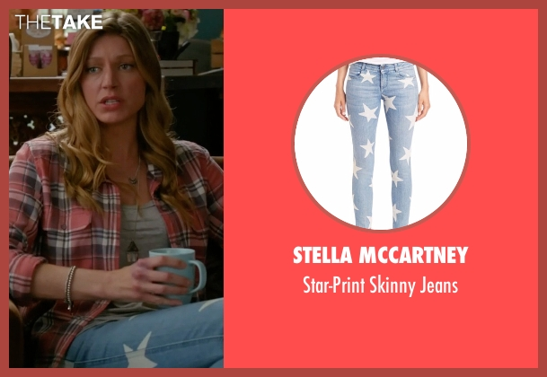 Stella McCartney blue jeans from Mistresses seen with Josslyn Carver (Jes Macallan)