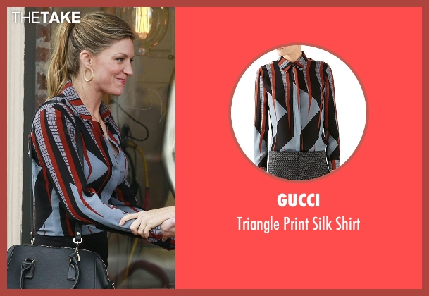 Gucci  blue shirt from Mistresses seen with Josslyn Carver (Jes Macallan)