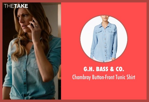 G.H. Bass & Co. blue shirt from Mistresses seen with Josslyn Carver (Jes Macallan)