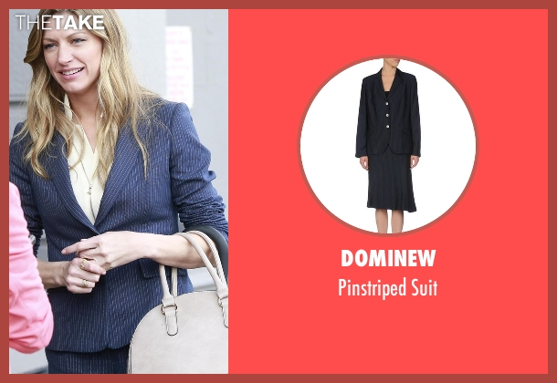 Dominew blue suit from Mistresses seen with Josslyn Carver (Jes Macallan)