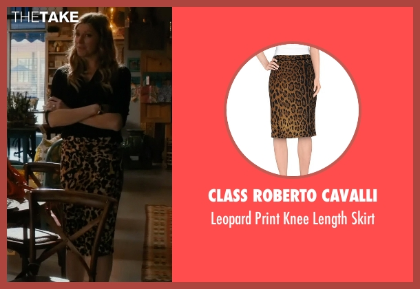 Class Roberto Cavalli brown skirt from Mistresses seen with Josslyn Carver (Jes Macallan)