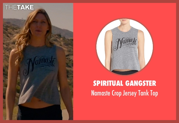 Spiritual Gangster gray top from Mistresses seen with Josslyn Carver (Jes Macallan)
