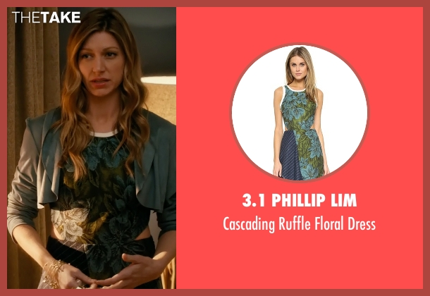 3.1 Phillip Lim green dress from Mistresses seen with Josslyn Carver (Jes Macallan)