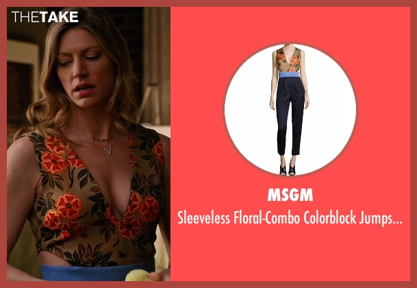 MSGM jumpsuit from Mistresses seen with Josslyn Carver (Jes Macallan)