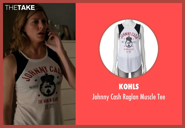 Kohls white tee from Mistresses seen with Josslyn Carver (Jes Macallan)