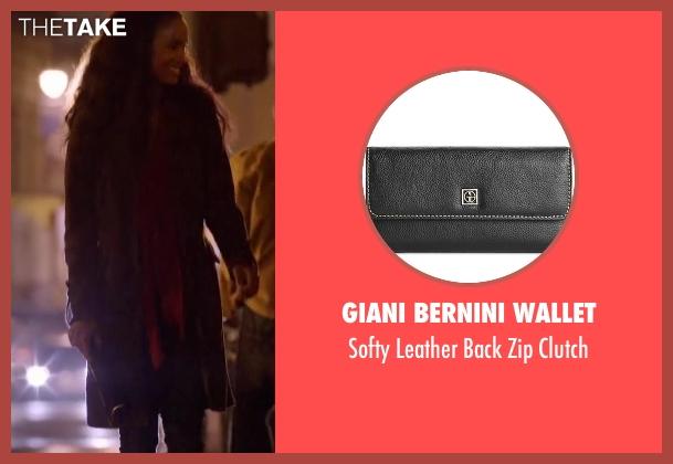 Giani Bernini Wallet black clutch from About Last Night seen with Joy Bryant (Debbie)