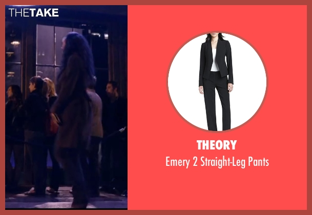 Theory black pants from About Last Night seen with Joy Bryant (Debbie)