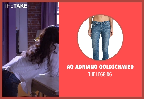 AG ADRIANO GOLDSCHMIED blue legging from About Last Night seen with Joy Bryant (Debbie)