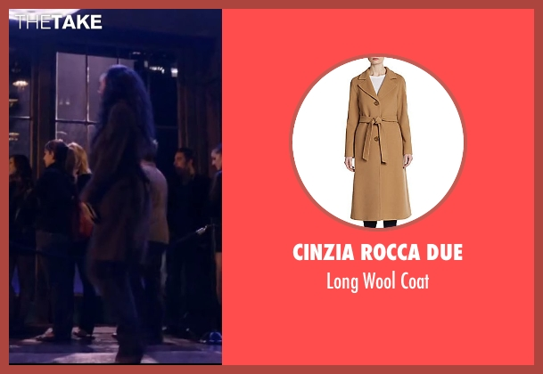 Cinzia Rocca DUE brown coat from About Last Night seen with Joy Bryant (Debbie)