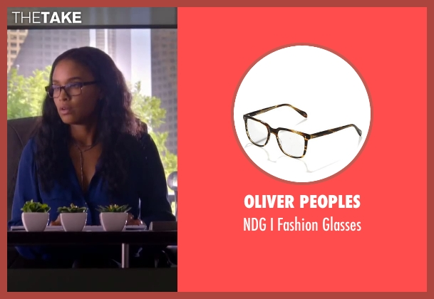 Oliver Peoples glasses from About Last Night seen with Joy Bryant (Joan)