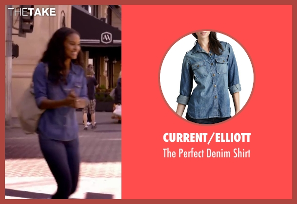Current/Elliott shirt from About Last Night seen with Joy Bryant (Debbie)