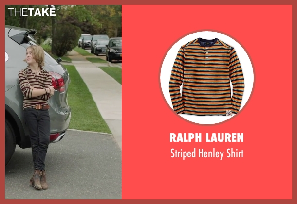 Ralph Lauren beige shirt from Demolition seen with Judah Lewis (Chris Moreno)