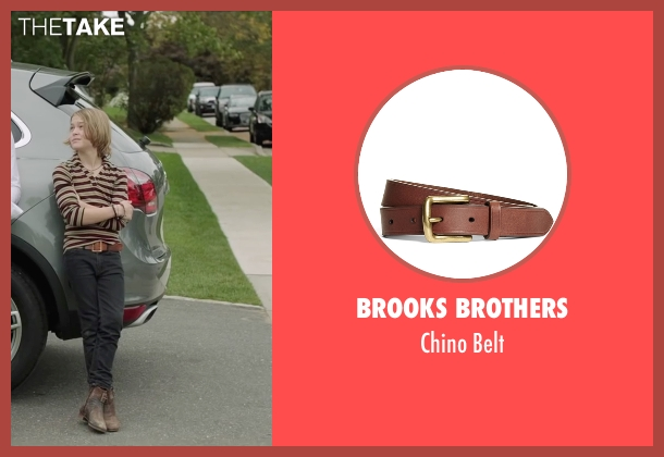 Brooks Brothers brown belt from Demolition seen with Judah Lewis (Chris Moreno)