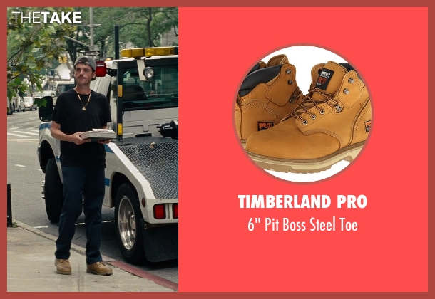 Timberland PRO brown toe from The Other Woman seen with Jude Donnelly (Tow Truck Driver)