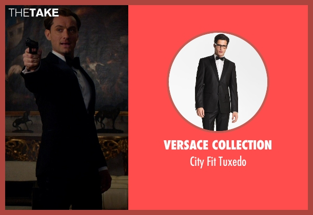 Versace Collection black tuxedo from Spy seen with Jude Law (Unknown Character)
