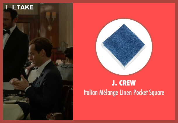 J. Crew blue square from Spy seen with Jude Law (Bradley Fine)