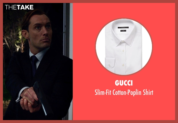 Gucci white shirt from Spy seen with Jude Law (Unknown Character)