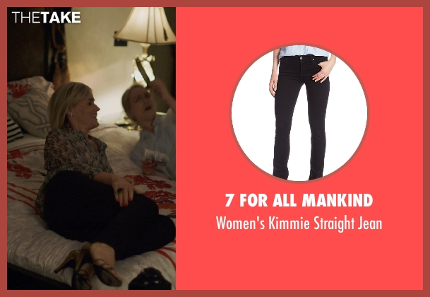 7 For All Mankind black jean from The Overnight seen with Judith Godrèche (Charlotte)