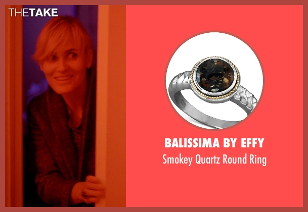 Balissima by EFFY black ring from The Overnight seen with Judith Godrèche (Charlotte)