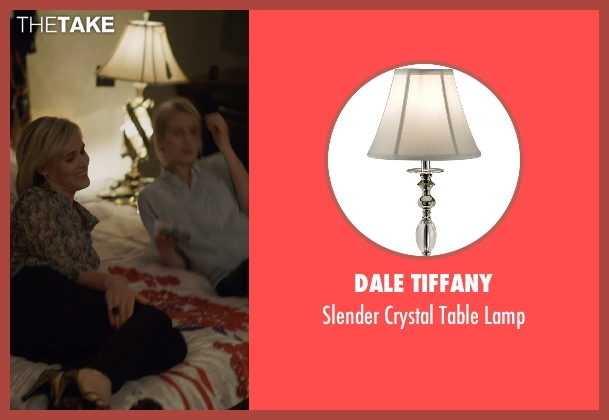 Dale Tiffany lamp from The Overnight seen with Judith Godrèche (Charlotte)