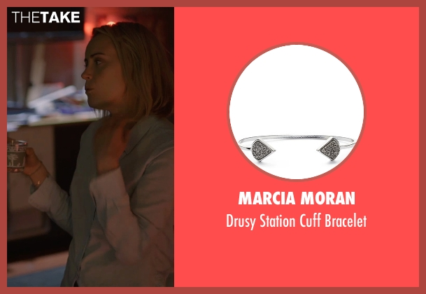 Marcia Moran silver bracelet from The Overnight seen with Judith Godrèche (Charlotte)