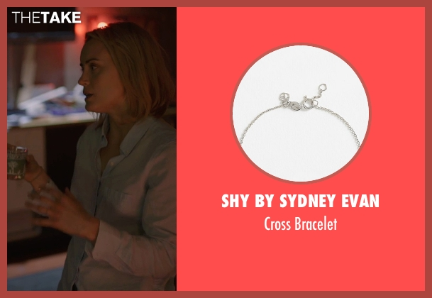 SHY by Sydney Evan silver bracelet from The Overnight seen with Judith Godrèche (Charlotte)