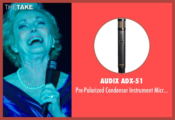 Audix ADX-51 microphone from The Purge: Anarchy seen with Judith McConnell (Old Elegant Woman)