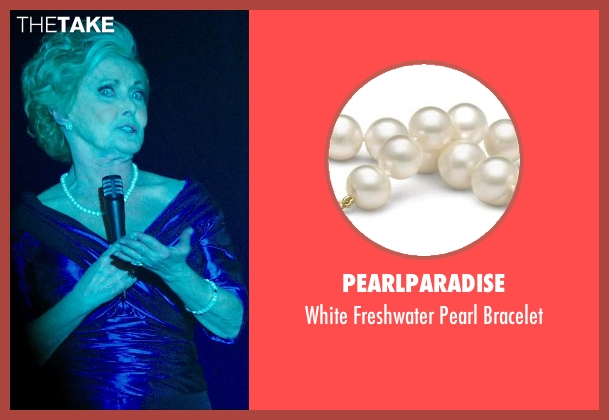 PearlParadise white bracelet from The Purge: Anarchy seen with Judith McConnell (Old Elegant Woman)
