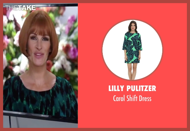 Lilly Pulitzer green dress from Mother's Day seen with Julia Roberts (Miranda)