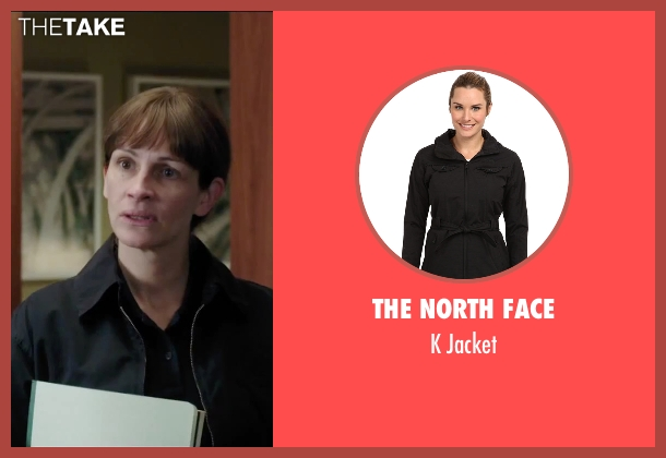 The North Face black jacket from Secret in Their Eyes seen with Julia Roberts (Jess)