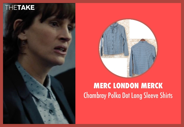 Merc London Merck blue shirts from Secret in Their Eyes seen with Julia Roberts (Jess)