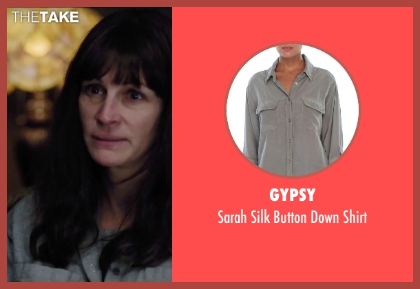 Gypsy gray shirt from Secret in Their Eyes seen with Julia Roberts (Jess)