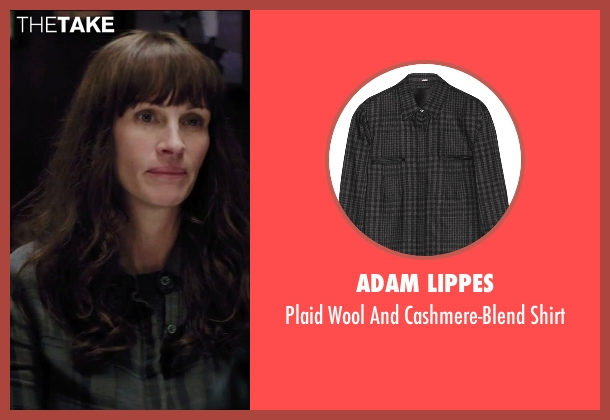 Adam Lippes gray shirt from Secret in Their Eyes seen with Julia Roberts (Jess)