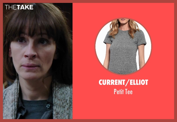 Current/Elliot gray tee from Secret in Their Eyes seen with Julia Roberts (Jess)