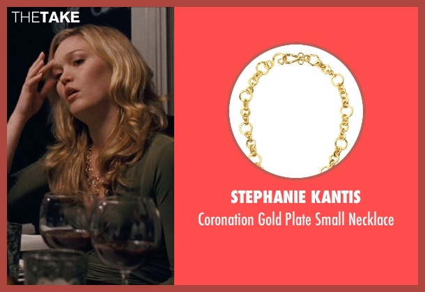 Stephanie Kantis	 gold necklace from Silver Linings Playbook seen with Julia Stiles (Veronica)