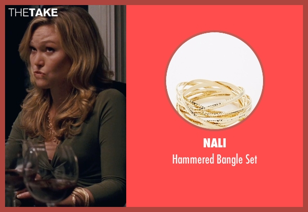 Nali gold set from Silver Linings Playbook seen with Julia Stiles (Veronica)