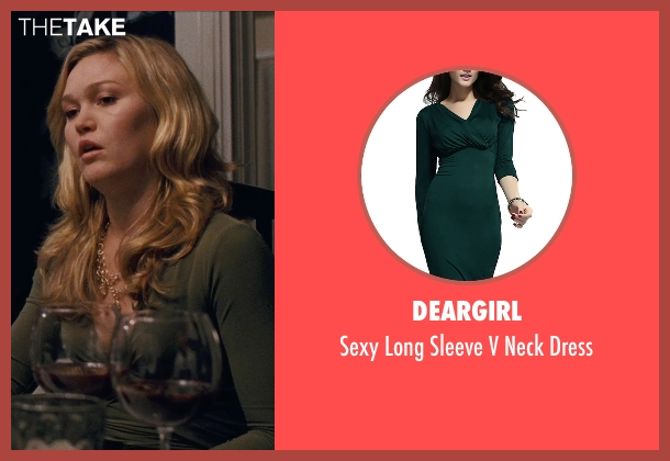 Deargirl green dress from Silver Linings Playbook seen with Julia Stiles (Veronica)