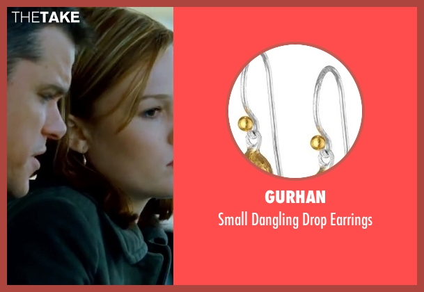 Gurhan gold earrings from The Bourne Ultimatum seen with Julia Stiles (Nicky Parsons)