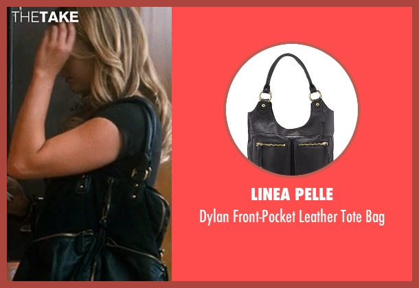 Linea Pelle black bag from Crazy, Stupid, Love. seen with Julianna Guill (Madison)