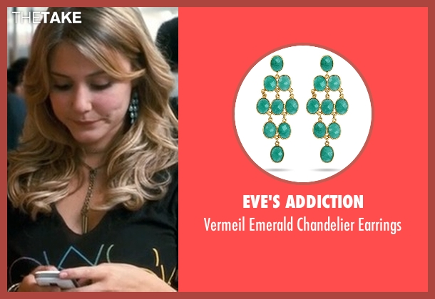 Eve's Addiction green earrings from Crazy, Stupid, Love. seen with Julianna Guill (Madison)