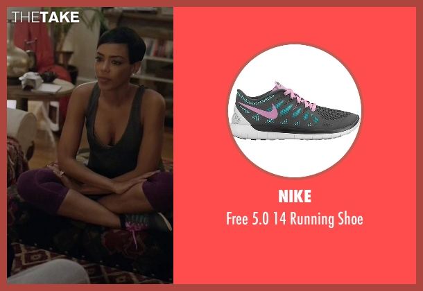 Nike gray shoe from Ballers seen with Julie Greane (Jazmyn Simon)