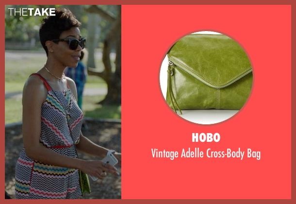 Hobo green bag from Ballers seen with Julie Greane (Jazmyn Simon)