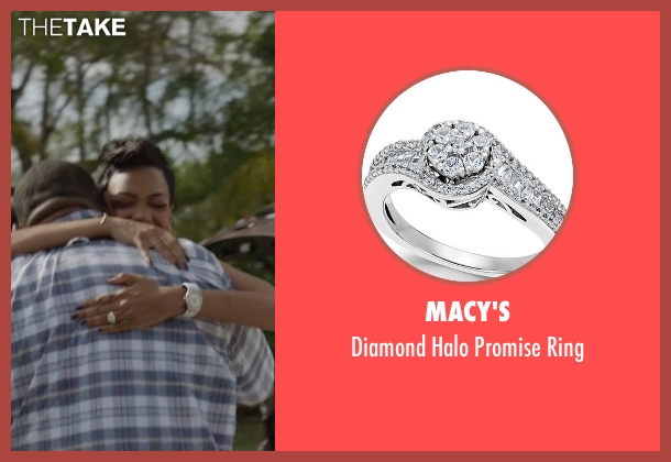 Macy's silver ring from Ballers seen with Julie Greane (Jazmyn Simon)