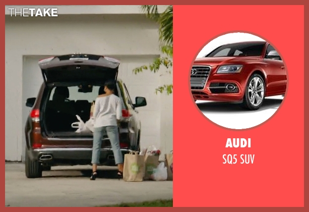 Audi suv from Ballers seen with Julie Greane (Jazmyn Simon)