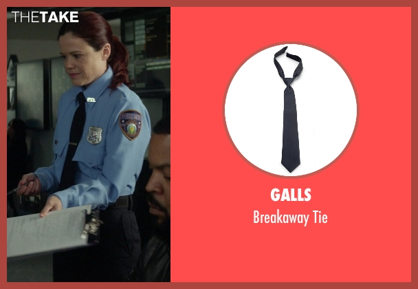 Galls black tie from Ride Along seen with No Actor (Waiver Officer)