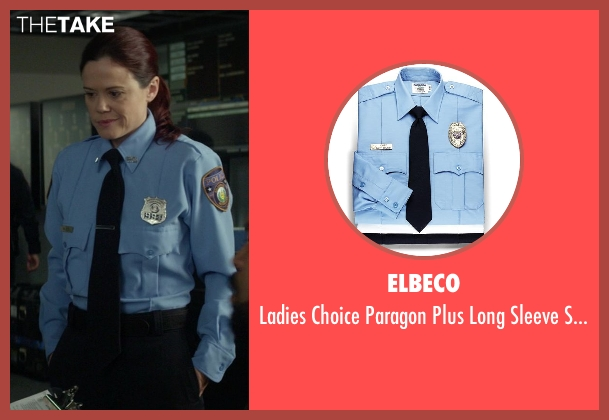 Elbeco blue shirt from Ride Along seen with No Actor (Waiver Officer)