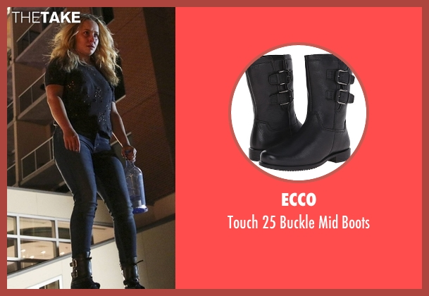 Ecco black boots from Nashville seen with Juliette Barnes (Hayden Panettiere)
