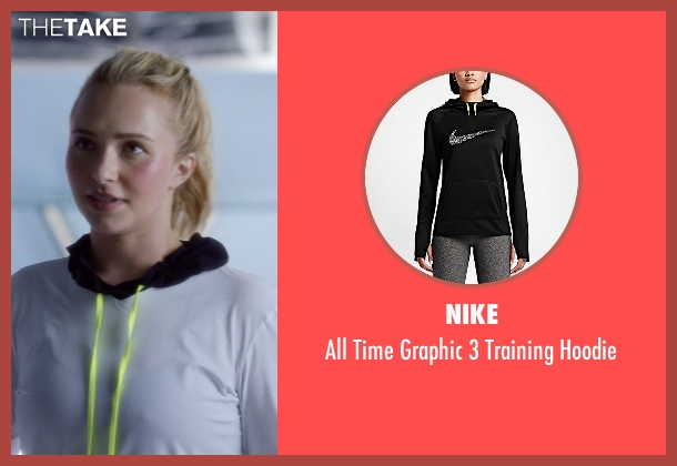 Nike black hoodie from Nashville seen with Juliette Barnes (Hayden Panettiere)